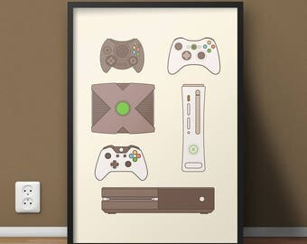 Xbox one controller etsy for Decoration xbox one