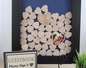 wedding drop box drop box heart drop box guest book drop box guest book wedding guestbook guest book frame hearts guest book