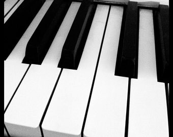 Piano Keys - A study in contrasts