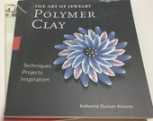 3 Polymer Clay Jewelry Books - Learn to Make Jewelry with Polymer Clay, Metal Clay & Millefiori Canes