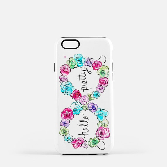 Hello Pretty, Iphone Case. Girl Boss gift, co-worker gift, Bridesmaid Gift
