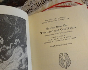 Thousand and One Nights  Harvard Classic Embossed Deluxe Edition
