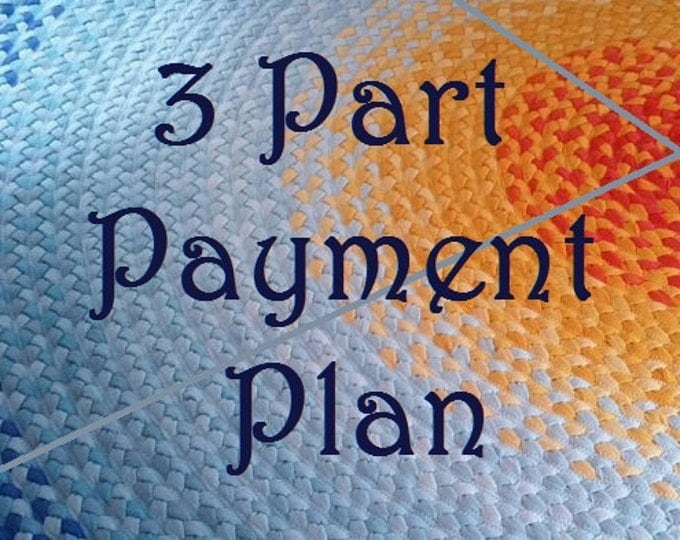 braided rug payment plan