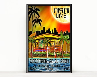 Phish Poster - AAA Miami NYE 2009