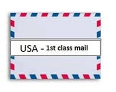 usa 1st class mail with 100.00 insurance