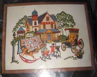Victorian Antiques Crewel Kit
