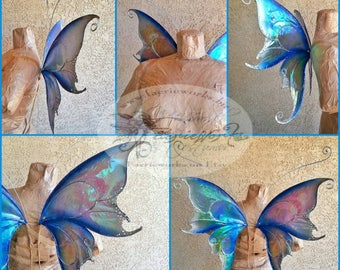 Air Faery Butterfly Wings for Bridal Wedding Cosplay LARP Halloween Costume Fair Festival Faery Wings Fairy