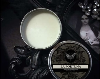 La Fortuna  Natural Solid Perfume Gypsy Apothecary Apricot,Osmanthus,Grapefruit, Hay,Vanilla Orris, Vetiver,Amyris