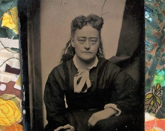 Tintype - Lady of Faded Beauty