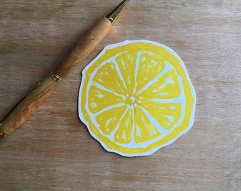 Lemon Wheel - Paper Cutouts - Escort Cards, place cards, guest book, wishing tree, well wishes, decoration, advice cards