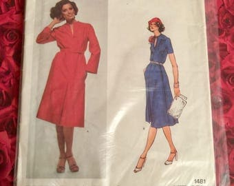 70's? Vintage Vogue Sewing Pattern