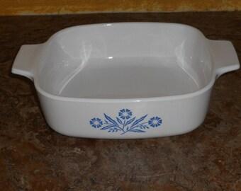 Vintage Blue Cornflower Baking Dish-1 Liter