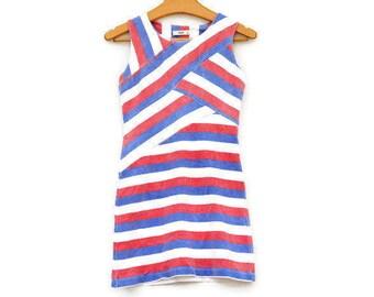 Vintage Prada Bodycon Knit Dress/XS Mini Dress/High Fashion/Designer Dress/Size 36 Dress