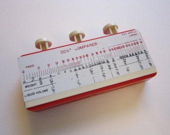 vintage ADD-A-MATIC handheld adding machine