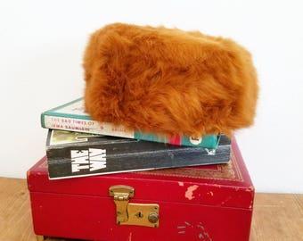 Beautiful Vintage 1950s Sam Buderg Orange Fur Hat
