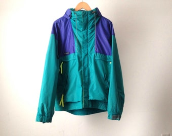vintage 90s COLUMBIA color block ski jacket