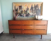 MID CENTURY MODERN 9 Dresser Dresser or Changing Table (Los Angeles)