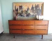 MID CENTURY MODERN 9 Dresser Dresser or Changing Table (Los Angeles)