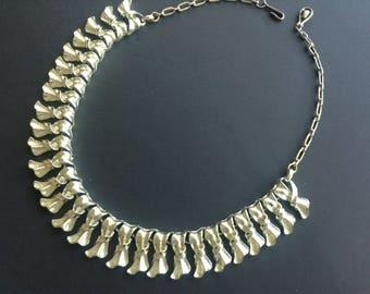 Vintage 1960s Linked Necklace