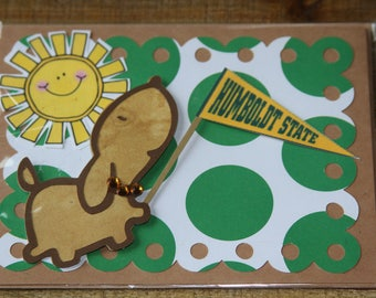 Humboldt State University Greeting Card-3