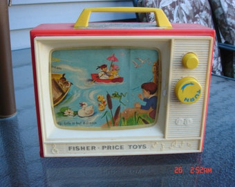 Fisher Price Two Tunes Two Picture Stories TV - Sweet