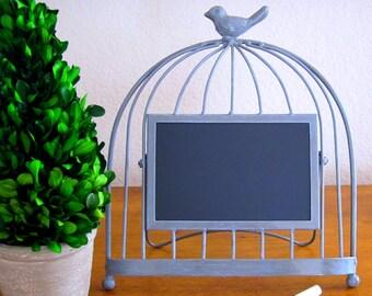 Bird Chalkboard Frame Bird Frame Vinyl Chalkboard Rustic Wedding Chalkboard Wedding Garden Chalkboard Kitchen Chalkboard Bird Lover Gift