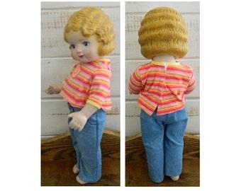 """Daisy Kingdom Doll - """"Pansy"""" - 1991"""