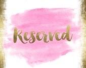 Custom Listing for--kim--reserved