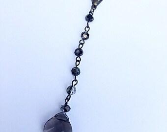 Vape Charm (smoky crystal)