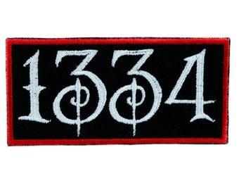 Black Plague of Death 1334 Patch Iron on Applique Alternative Clothing Rozz Williams - YDS-EMPA-01-PATCH