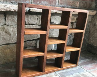 Rustic Cubby for Your Knick-Knacks