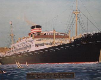 Framed Ship Print Heiyo Maru
