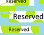Reserved for L. - Black Chicken
