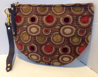 Small Pouch-Wallet-Wristlet - 100% Handmade - Ready to Ship
