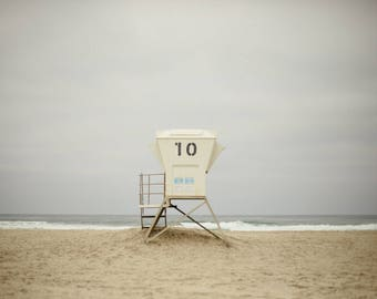 Mission Beach #10 Life Guard Stand  - Horizontal