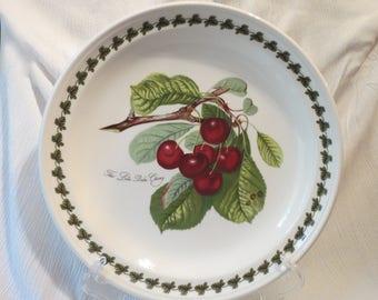 "Portmeirion Pomona Late Duke Cherry Dinner Plate 10.5"" Susan Williams-Ellis, England"