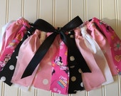 Minnie Mouse Skirt - Disney Minnie Mouse - Minnie Fabric Skirt - Little Girl Birthday Outfit - Baby Girl Disney Skirt - Disney Birthday