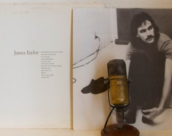 """ON SALE James Taylor Vinyl Record Album 1970s Singer Songwriter Ballads Love Songs Folk Pop """"Greatest Hits"""" (1976 WB w/ """"Mexico"""")"""