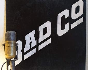 "Bad Company Vinyl Record Album 1970s Classic Rock Pop British Blues,""Bad Company"" (Original 1974 Swan Song)"