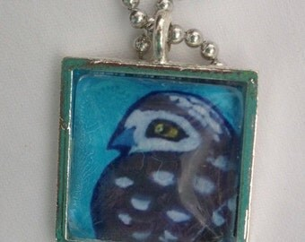 Burrowing Owl Necklace