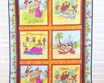 The Flintstones Quilt