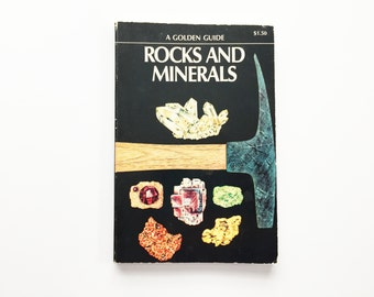 Rocks and Minerals, Golden Nature Guide, 1957