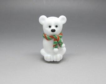 Polar Bear Focal Bead