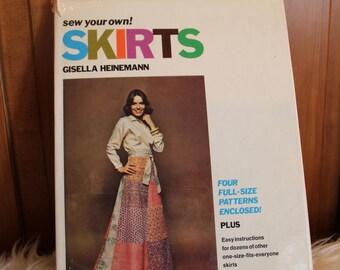 Sewing Book Skirts 1978 by Gisella Heinemann