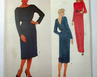 "Antique Jerry Silverman Vogue American Designer Pattern #2329 - size 34"" Bust"