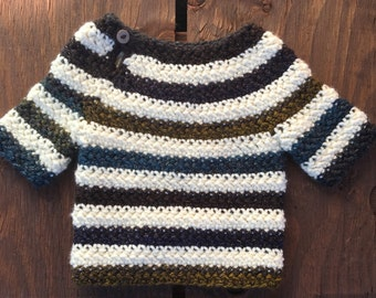 Crochet Baby Sweater, Baby Girl Sweater, Knit Baby Sweater, Infant Sweater, Toddler Sweater, Teal, Navy, Olive, Striped, Sparkle, Baby Girl