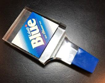 Vintage Lucite Labatt Blue Pilsener Beer Keg Draft Tap Pull Canadian Beer! Free Ship