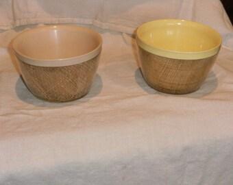 Vintage Raffiaware Bowls