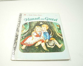 1982 Little Golden Book Hansel and Gretel