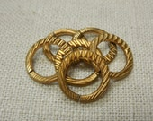 Large Brass Jump Ring